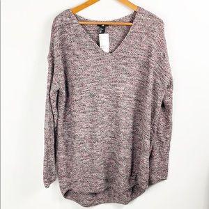 H&M V Neck Sweater Size Large NWT